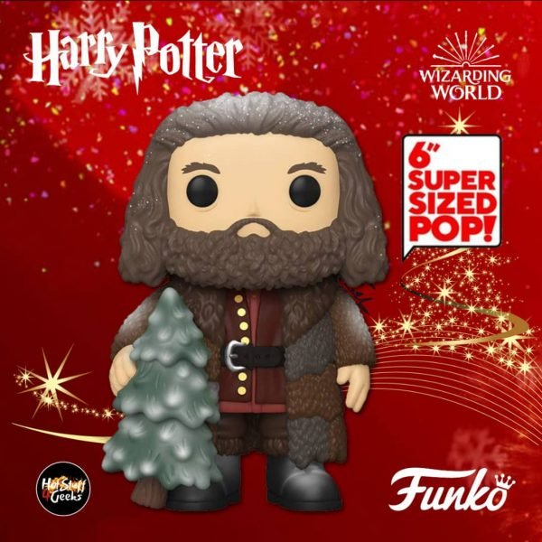 Funko POP! Harry Potter: Holiday - Rubeus Hagrid 6-inch Funko Pop! Vinyl Figure - Christmas Holiday 2020