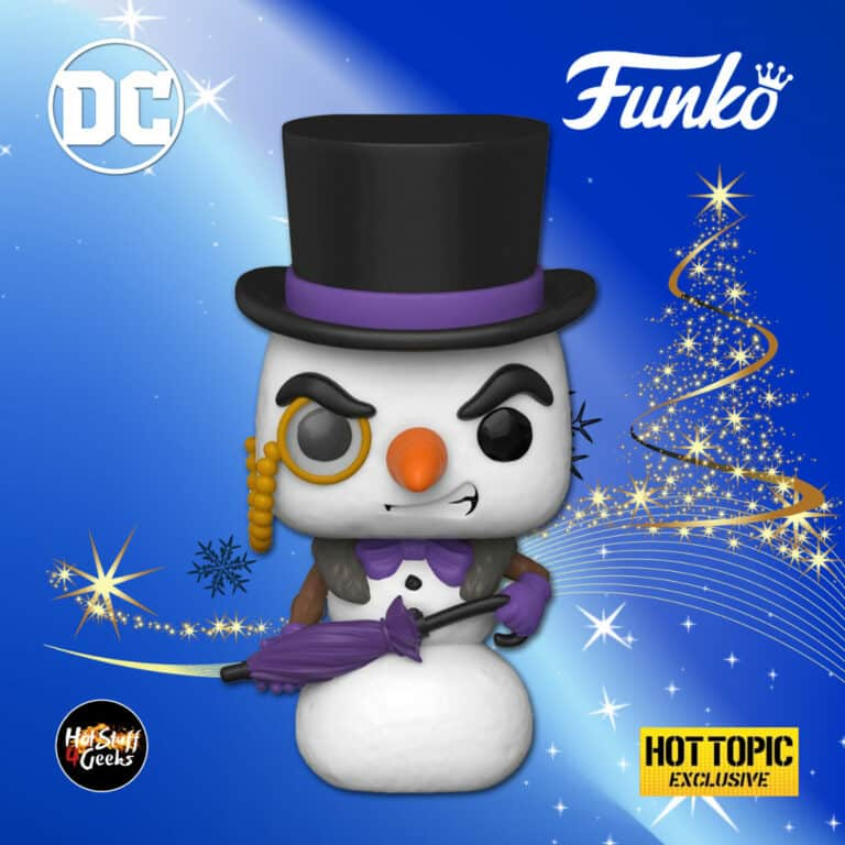 Funko POP! Heroes: DC Holiday - The Penguin Snowman Funko Pop! Vinyl Figure - Target Exclusive - Christmas Holiday 2020