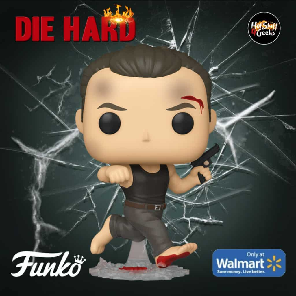 Funko POP! Movies: Die Hard - John McClane in Dark Tank Funko Pop! Vinyl Figure - Walmart Exclusive