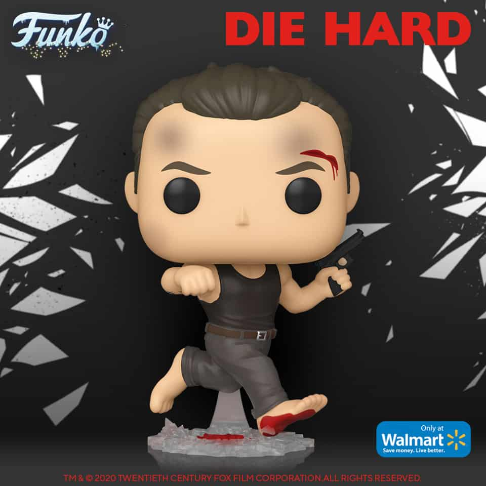 Funko POP! Movies: Die Hard - Bloody John McClane in Dark Tank Funko Pop! Vinyl Figure - Walmart Exclusive