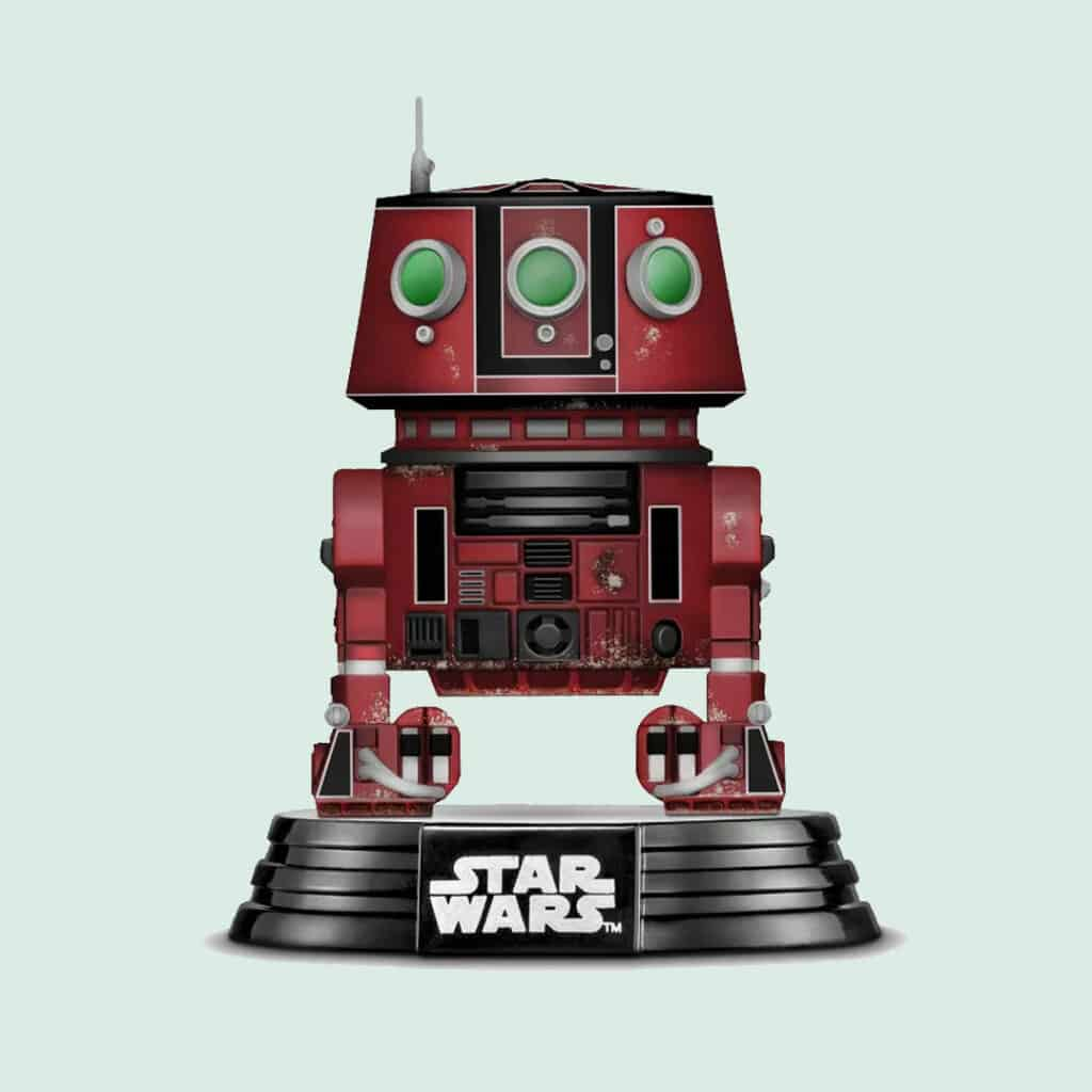 Funko POP! Star Wars: Galaxy's Edge - Red M5-R3 Droid Unit Funko Pop! Vinyl Figure - Target Exclusive