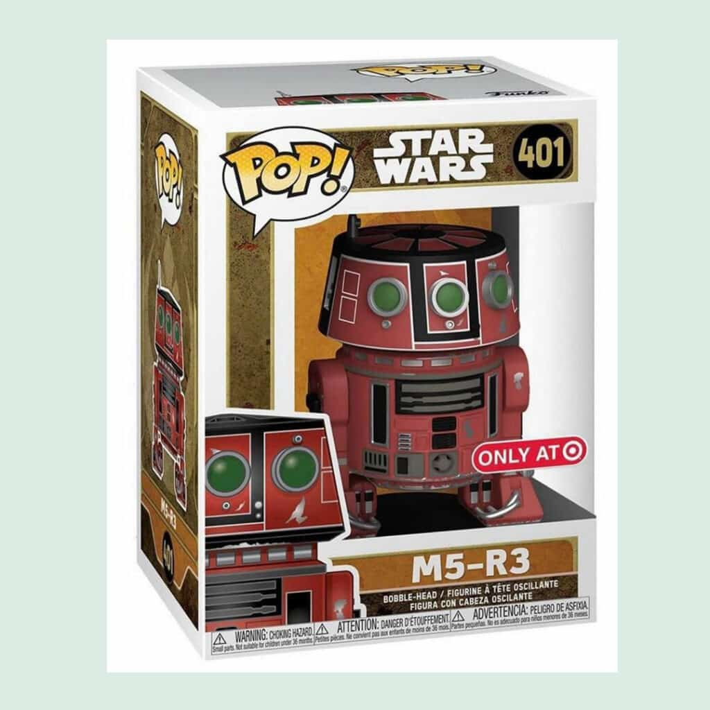 Funko POP! Star Wars: Galaxy's Edge - Red M5-R3 Droid Unit Funko Pop! Vinyl Figure - Target Exclusive (Box)
