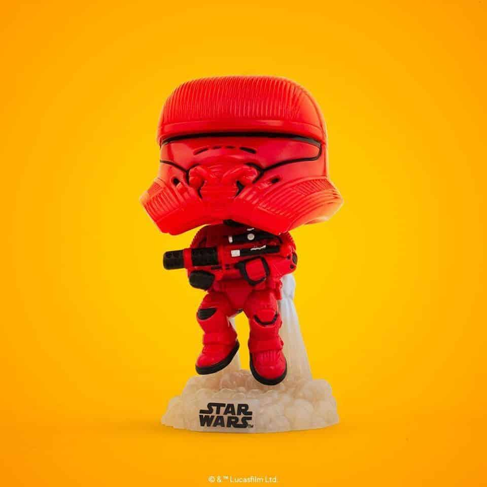 Funko POP! Star Wars The Rise of Skywalker - Sith Jet Trooper Funko POP! Vinyl Figure - SDCC 2020 and Amazon Shared Exclusive