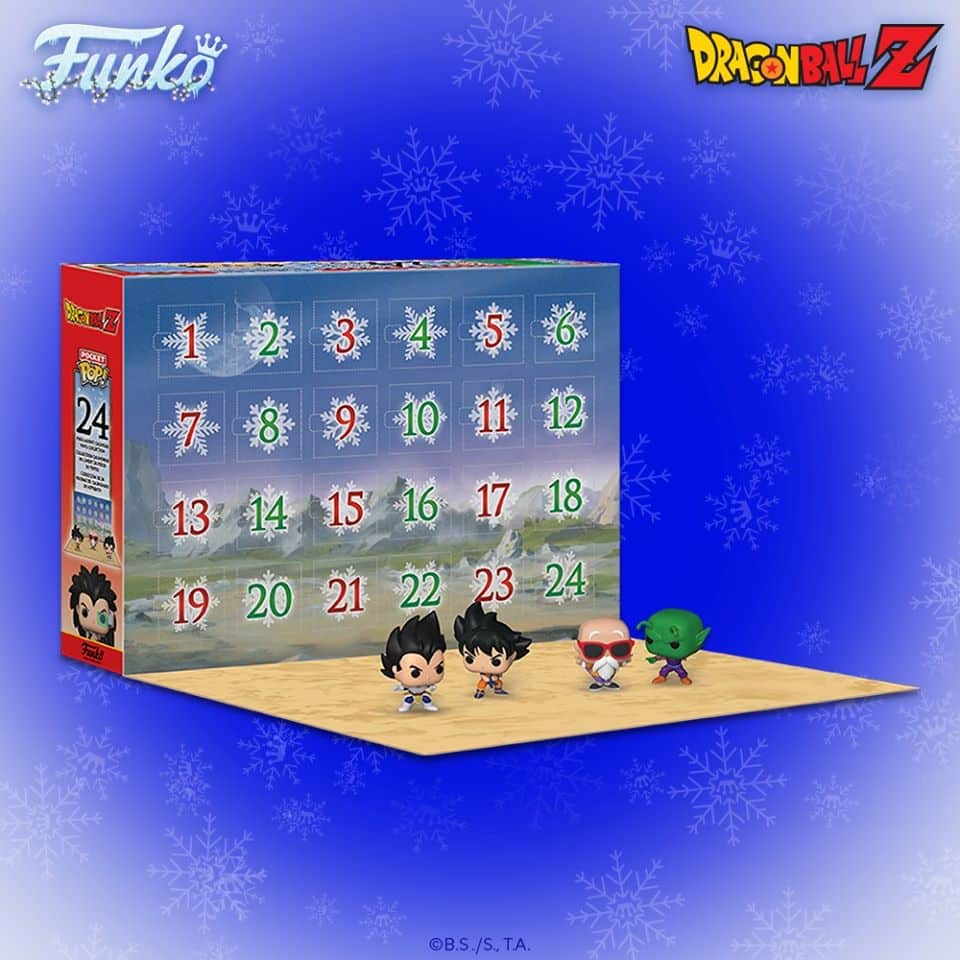 Funko Pop! Advent Calendar 2020: Dragon Ball Z Advent Calendar Pocket Pop! with 24 Pocket Pop! Mini-Figures