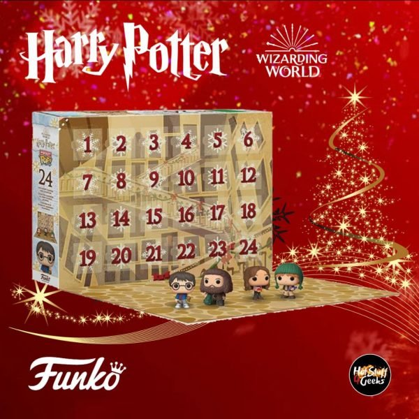 Funko Pop! Advent Calendar 2020 Harry Potter Advent Calendar Pocket Pop! with 24 Pocket Pop! Mini-Figures
