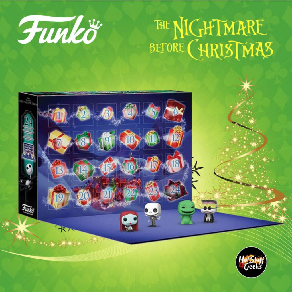 Funko Pop! Advent Calendar 2020: The Nightmare Before Christmas - Advent Calendar Pocket Pop! with 24 Pocket Pop! Mini-Figures