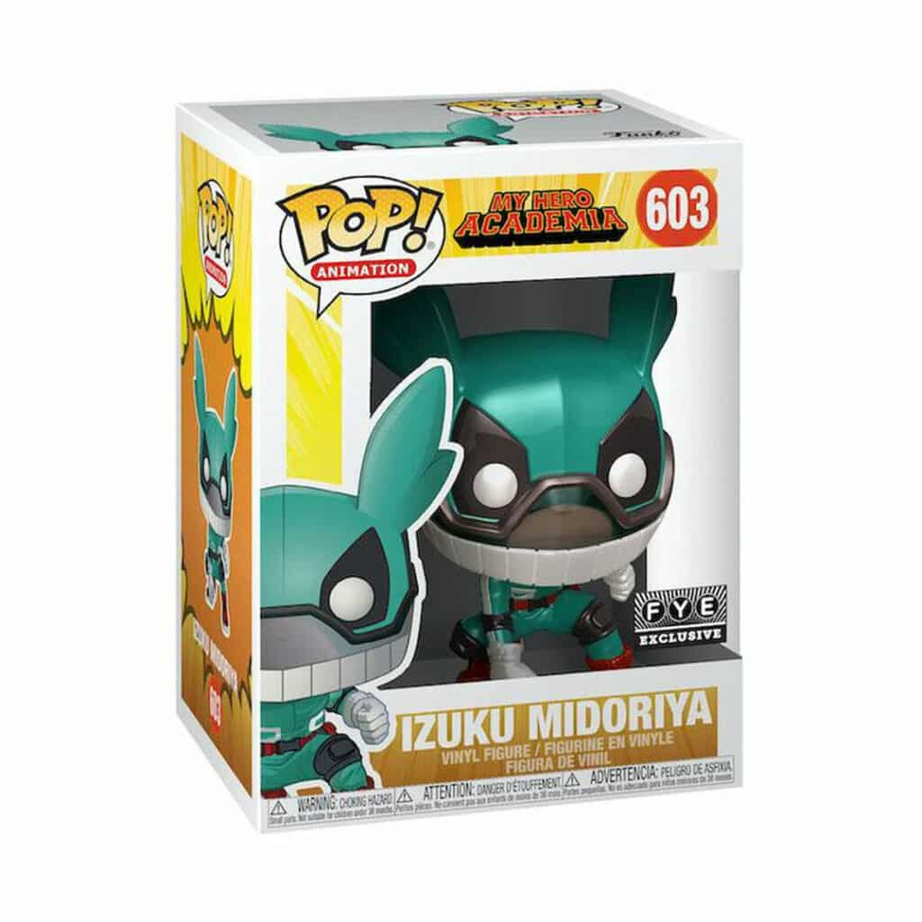 Funko Pop! Animation: My Hero Academia - Izuku Midoriya (Metallic) Funko Pop! Vinyl Figure -Fye Exclusive (Box)