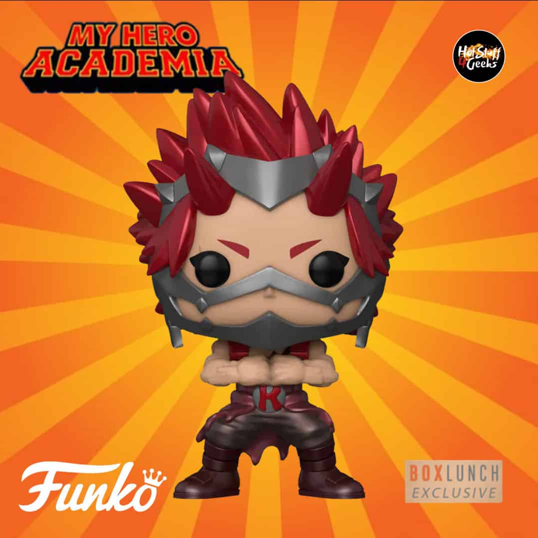 New 2020 My Hero Academia Eijiro Kirishima Metallic Hot Stuff 4 Geeks