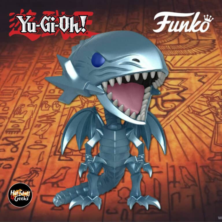 Funko Pop! Animation: Yu-Gi-Oh! - Blue-Eyes White Dragon Funko Pop! Vinyl Figure