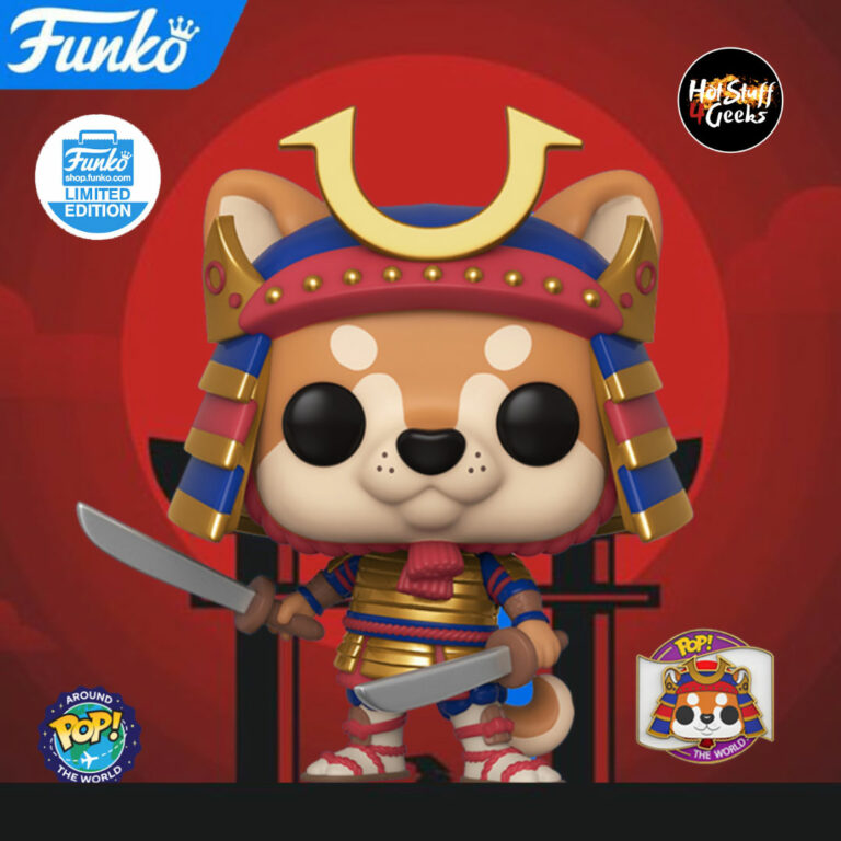 Funko Pop! Around the World Toshi (Japan) Funko Pop Vinyl Figure - Funko Shop Exclusive