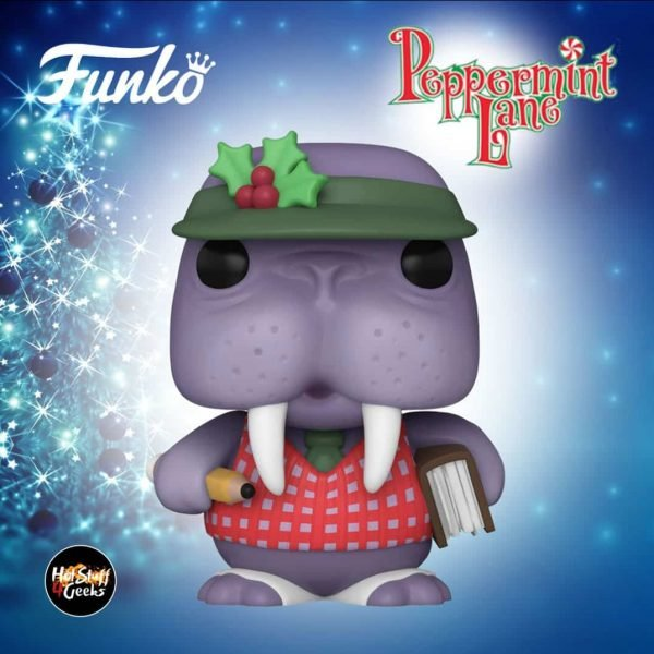 Funko Pop! Christmas: Peppermint Lane – Tusky Ledger Funko Pop! Vinyl Figure – Christmas Holiday 2020