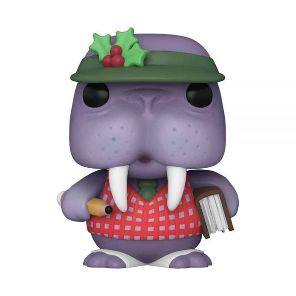 Funko Pop! Christmas:  Peppermint Lane - Tusky Ledger Funko Pop! Vinyl Figure - Christmas Holiday 2020