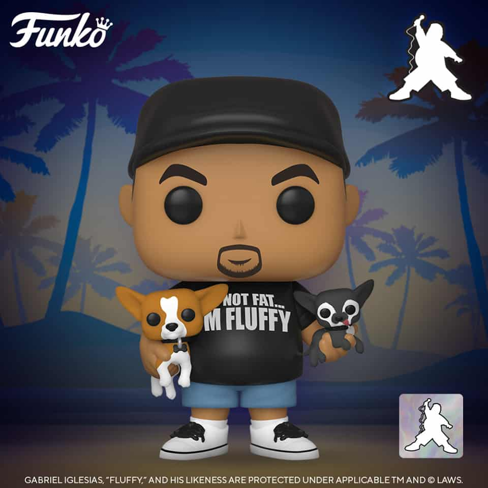 Funko Pop! Comedians Fluffy with His Dogs Funko Pop! Vinyl Figure
