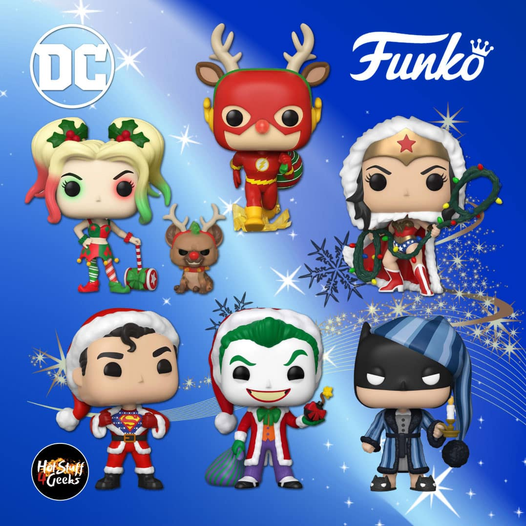 Christmas Funko Pop 2020 NEW Funko 2020 | DC Comics: Christmas Holiday Pops 2020 | Hot
