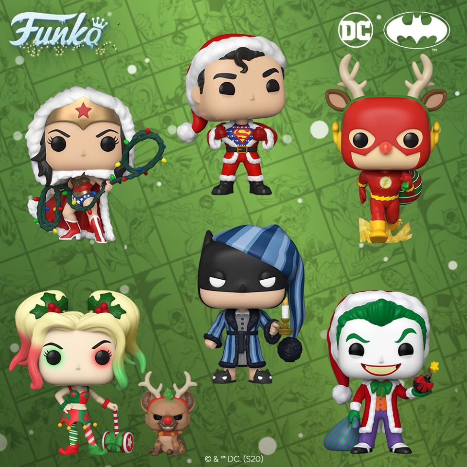 Christmas In Dc 2020 NEW Funko 2020 | DC Comics: Christmas Holiday Pops 2020 | Hot