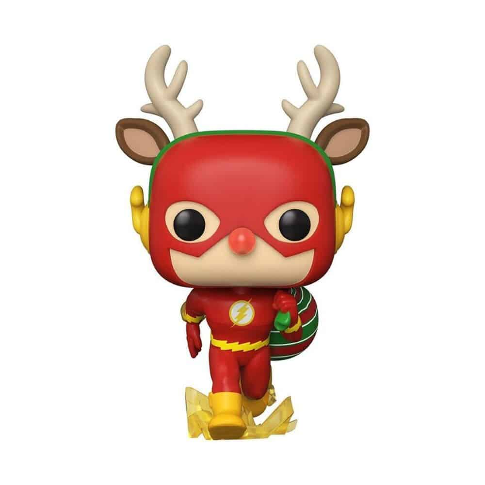 Funko Pop! Heroes: Dc Comics: Rudolph Flash Funko Pop! Vinyl Figure - DC Holiday 2020