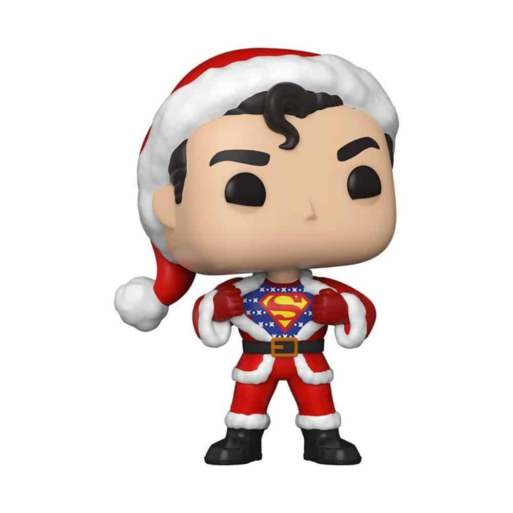 Funko Pop! Heroes: Dc Comics: Superman with Sweater Funko Pop! Vinyl Figure - DC Holiday 2020