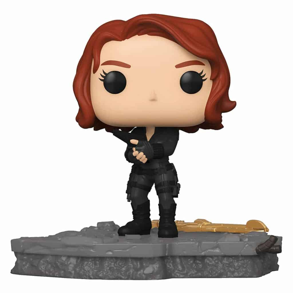 Funko Pop! Deluxe, Marvel: Avengers Assemble Series - Black Widow (6-Inch) Funko Pop! Vinyl Figure -  Amazon Exclusive, Figure 5 of 6