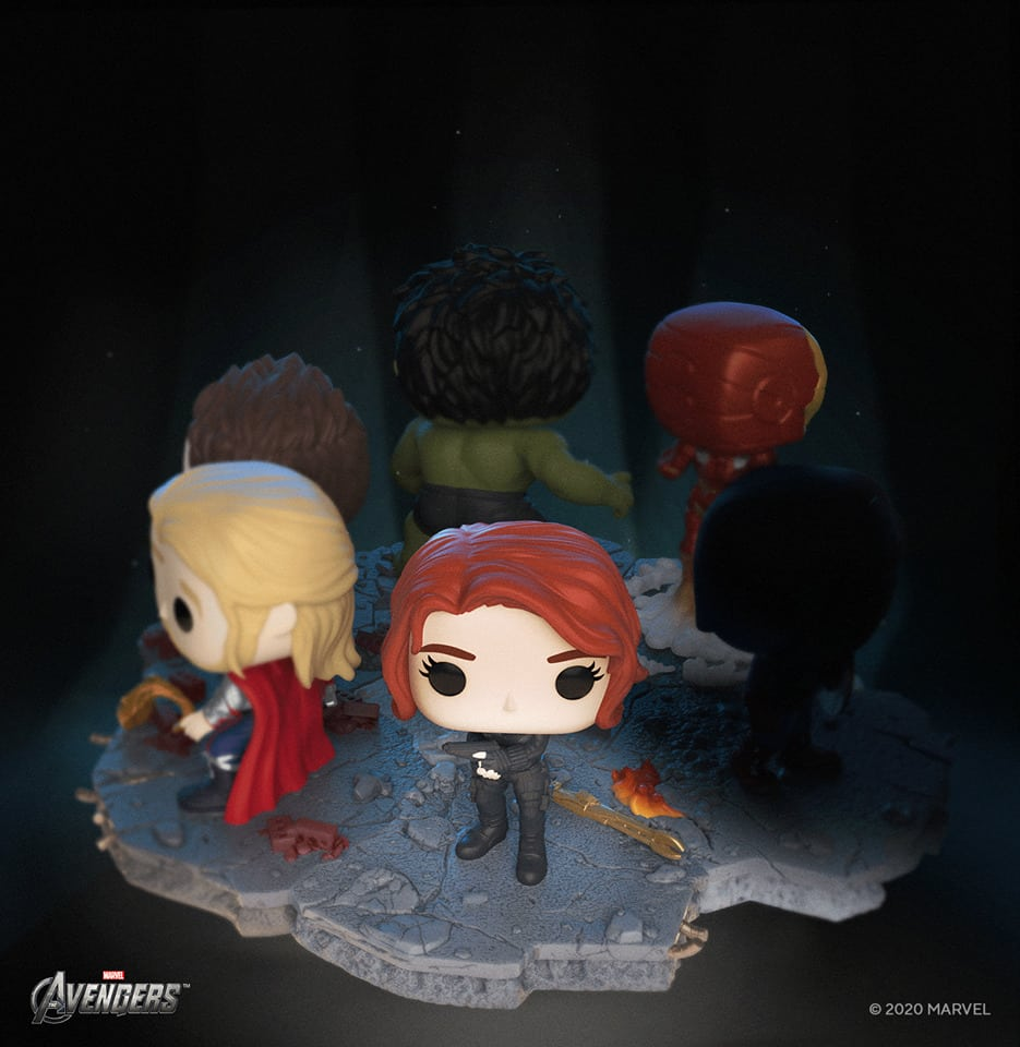 Funko Pop! Deluxe, Marvel: Avengers Assemble Series - Black Widow Amazon Exclusive, Figure 5 of 6