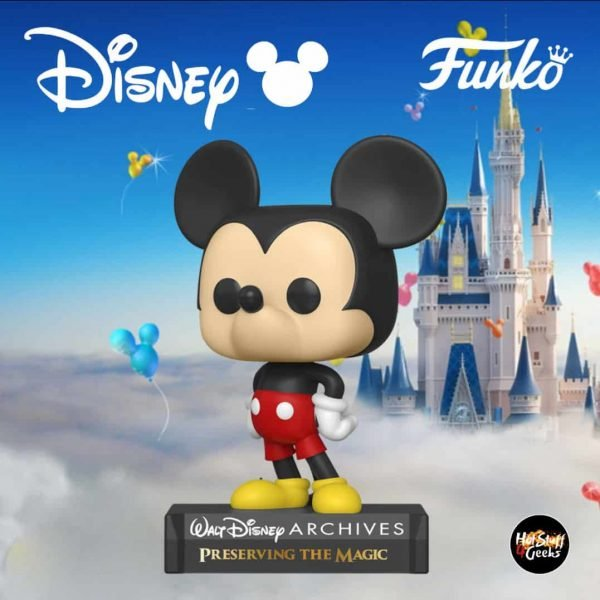 Funko Pop! Disney Archives Mickey Mouse - Mickey Mouse Funko Pop! Vinyl Figure