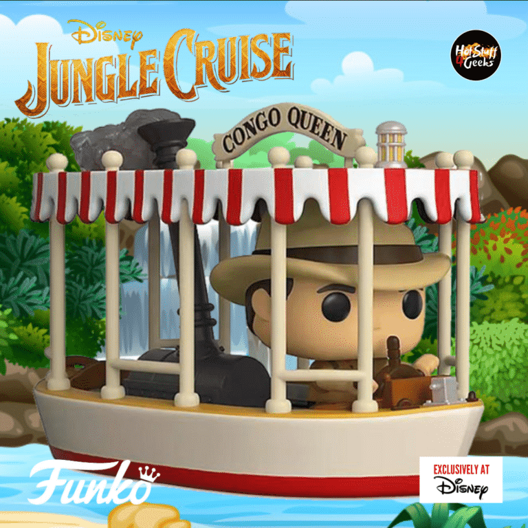 Funko Pop! Disney Parks: Jungle Cruise - Congo Queen Boat With Skipper Funko Pop! Vinyl Figure - Disney Shop Exclusive