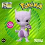 Funko Pop! Games Pokémon Mewtwo (Flocked) Funko Pop! Vinyl Figure - SDCC 2020 and Funko Shop Shared Exclusive