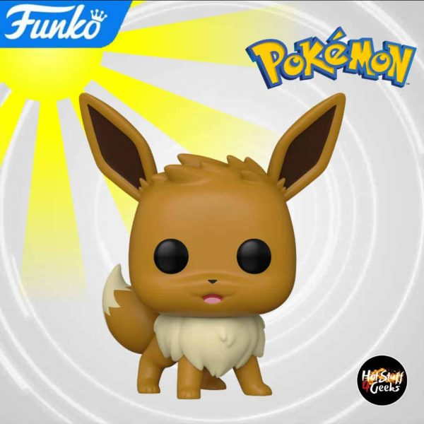 Funko Pop! Games: Pokemon - Eevee Funko Pop! Vinyl Figure