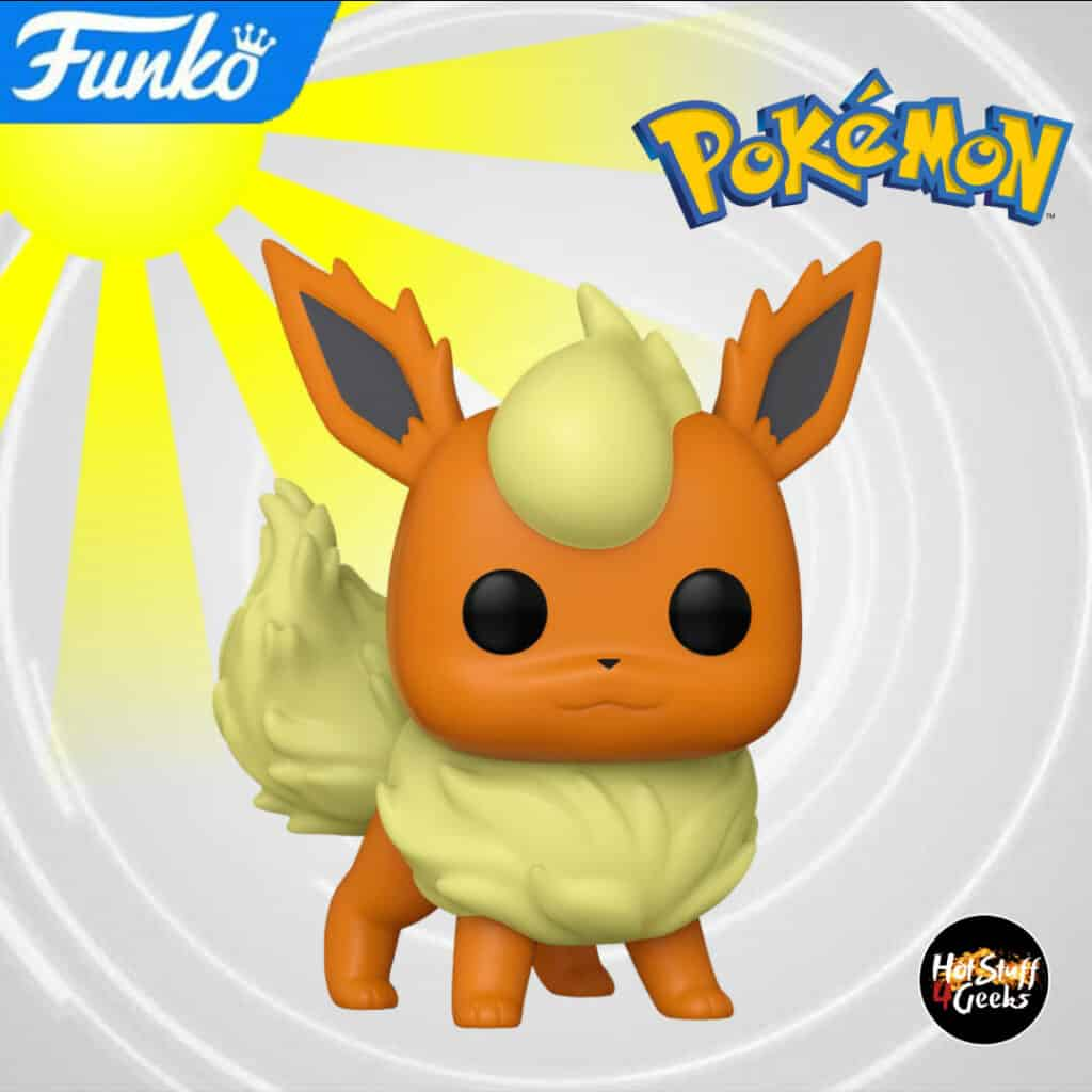 Funko Pop! Games Pokemon - Flareon Funko Pop! Vinyl Figure