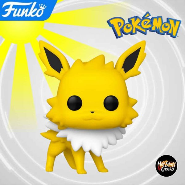 Funko Pop! Games: Pokemon - Jolteon Funko Pop! Vinyl Figure