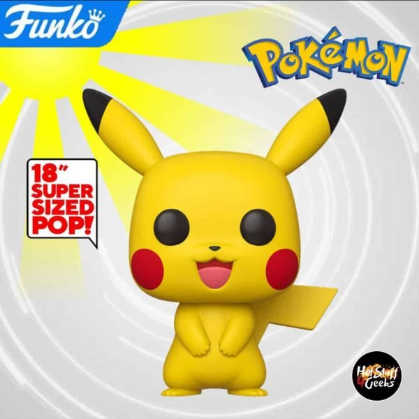 Funko Pop! Games Pokemon - Pikachu 18-Inch Funko Pop! Vinyl Figure