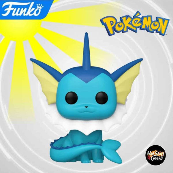 Funko Pop! Games Pokemon - Vaporeon Funko Pop! Vinyl Figure