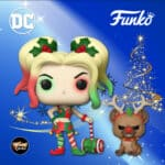 Funko Pop! Heroes: Dc Comics - Harley Quinn With Helper Funko Pop! Vinyl Figure - DC Holiday 2020