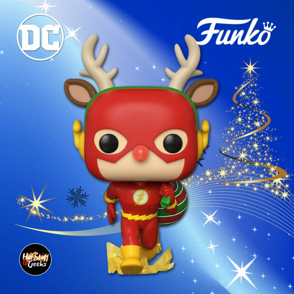 Funko Pop! Heroes: Dc Comics - Rudolph Flash Funko Pop! Vinyl Figure - DC Holiday 2020