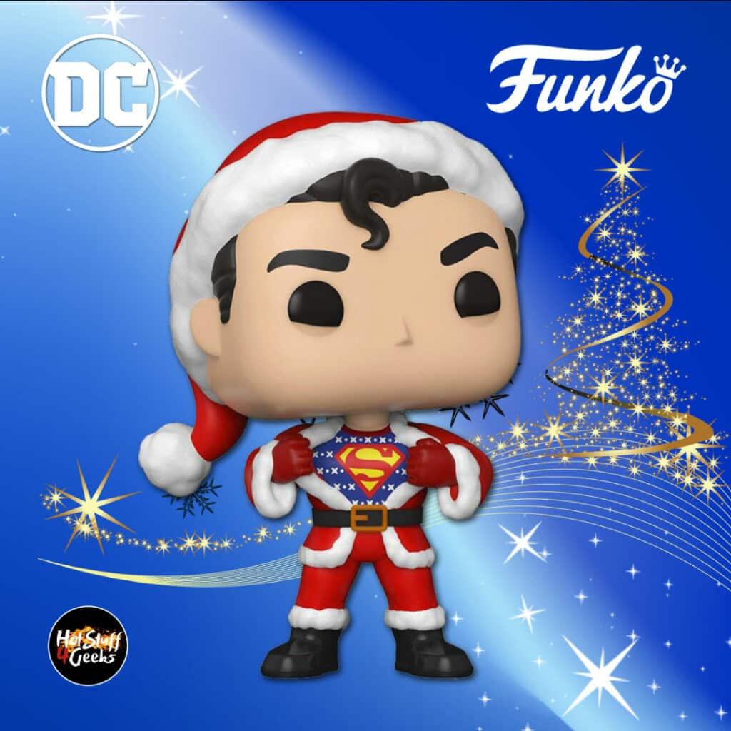 Funko Pop! Heroes: Dc Comics - Superman with Sweater Funko Pop! Vinyl Figure - DC Holiday 2020
