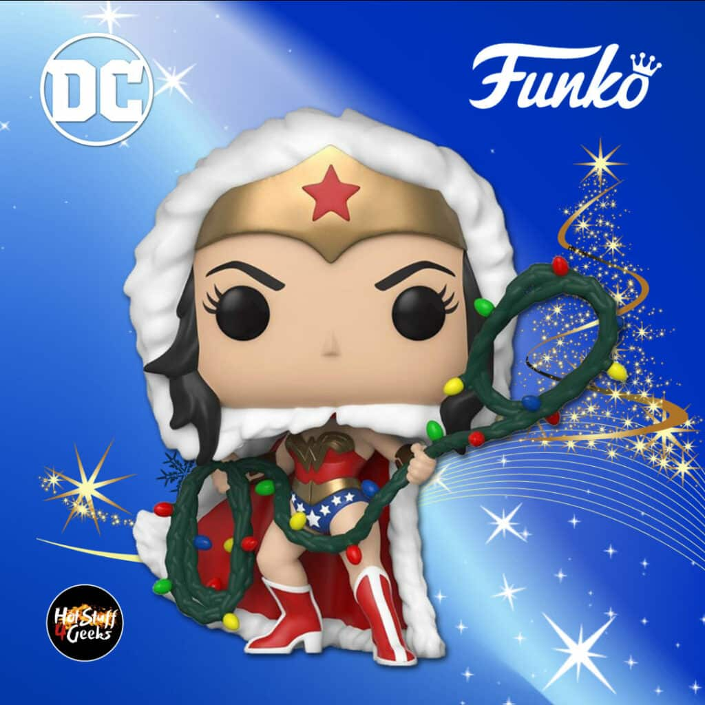 Funko Pop! Heroes: Dc Comics - Wonder Woman with Lights Lasso Funko Pop! Vinyl Figure - DC Holiday 2020
