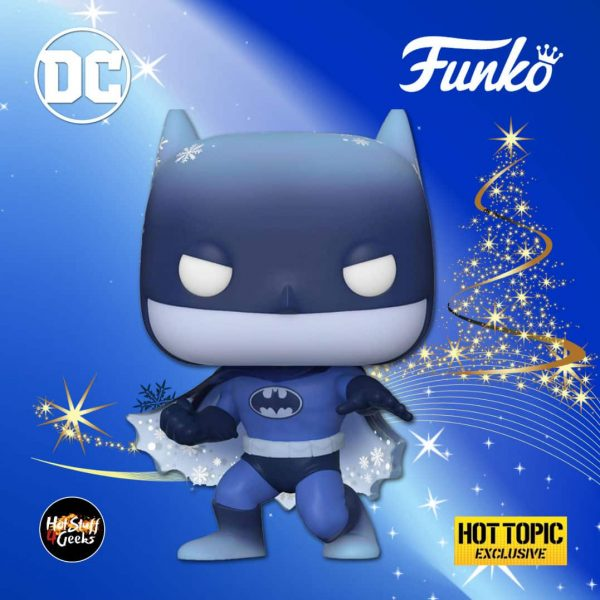 Funko Pop! Heroes: Dc Holiday - Batman Silent Knight Funko Pop! Vinyl Figure - Hot Topic Exclusive - Christmas Holiday 2020