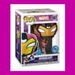 Funko Pop! Marvel: Iron Heart with Glow-In-The-Dark (GITD) Chase Funko Pop! Vinyl Figure - Pop In a Box (PIAB) Exclusive (Box)