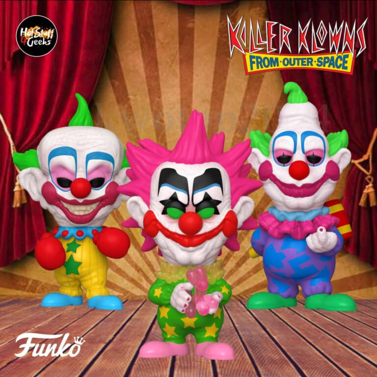 Funko Pop! Movies Killer Klowns from Outer Space - Shorty, Spikey, and Jumbo Funko Pop! Vinyl Figures - Funkoween 2020