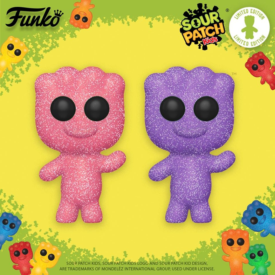 Funko Pop! Sour Patch Kids Strawberry and Grape Funko Pop! Vinyl Figures - Limited Edition