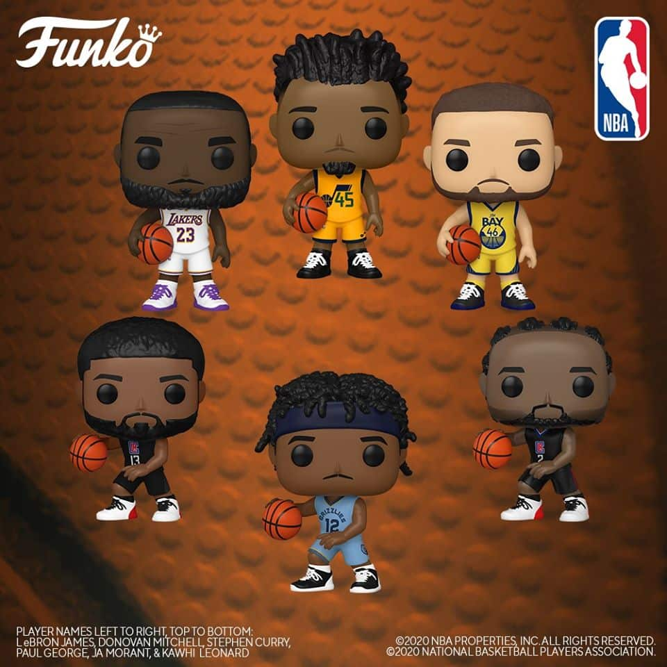 Funko Pop! Basketball: MBA (2020) Funko Pop! Vinyl Figures