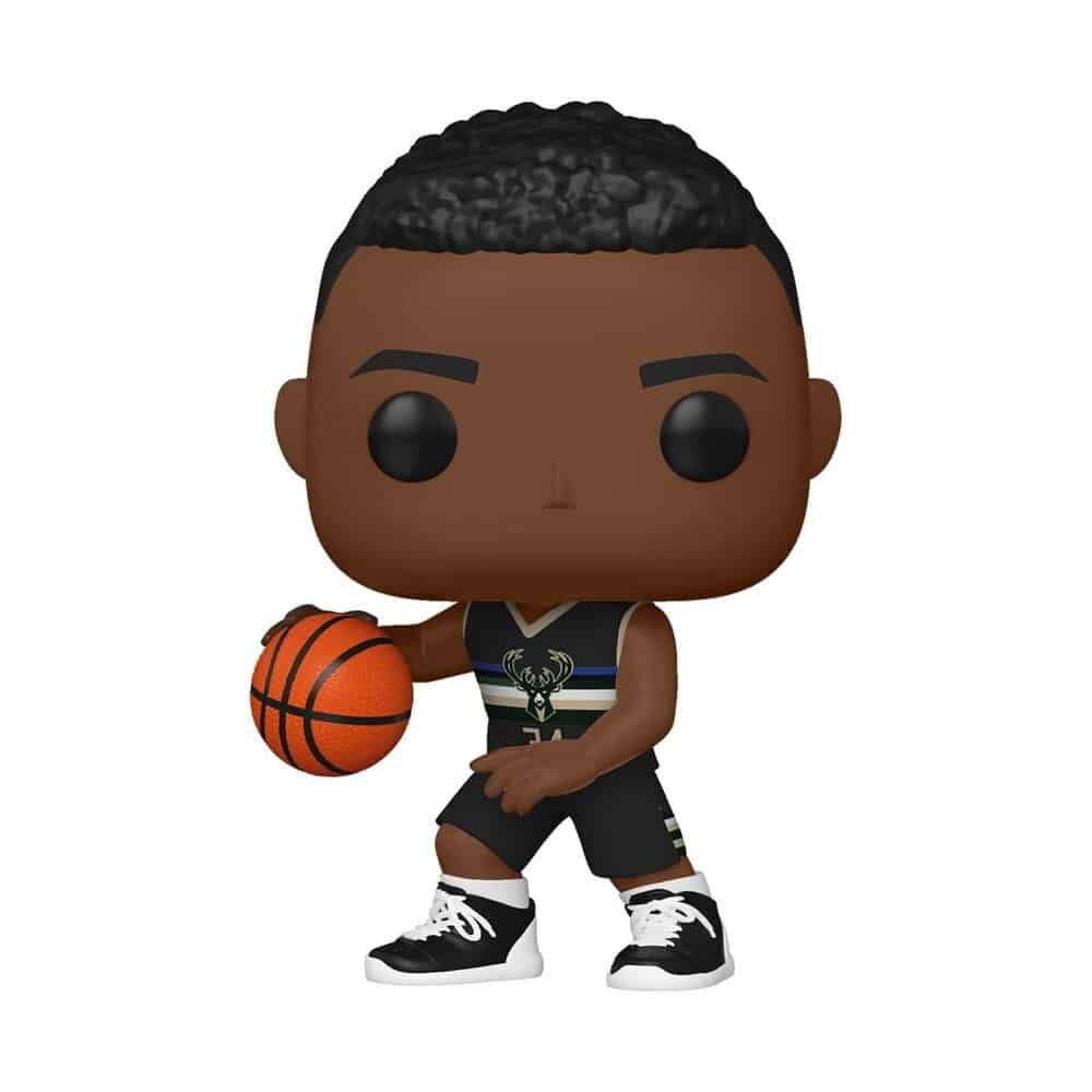 Funko Pop! Basketball:  NBA Bucks Giannis Antetokounmpo (Alternate) Fuko Pop! Vinyl Figure