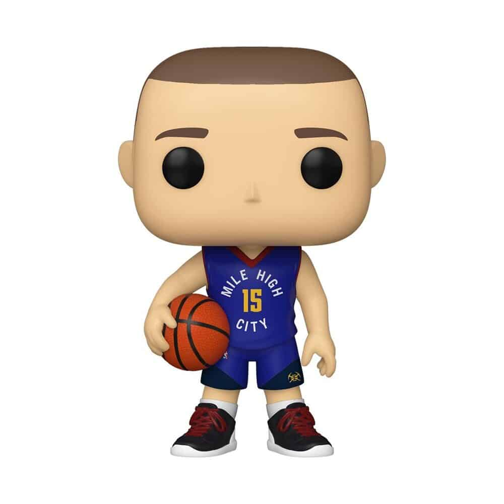 Funko Pop! Basketball  NBA Denver Nuggets Nikola Jokic (Alternate) Funko Pop! Vinyl Figure