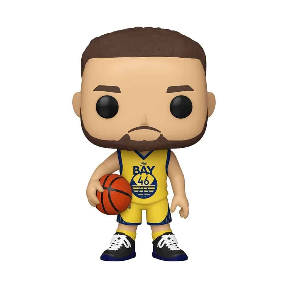 Funko Pop! Basketball  NBA Golden State Warriors Steph Curry (Alternate) Funko Pop! Vinyl Figure