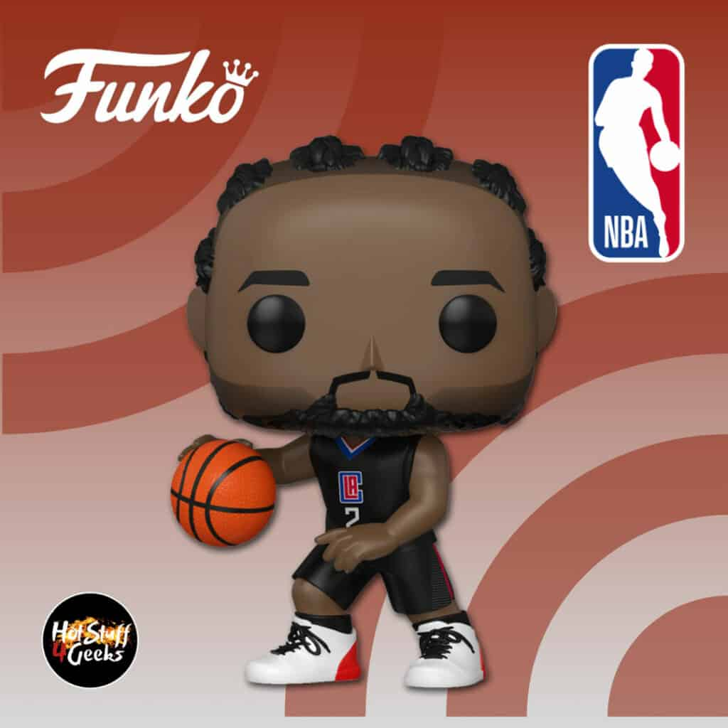 Funko Pop! Basketball: NBA LA Clippers Kawhi Leonard (Alternate) Funko Pop! Vinyl Figure