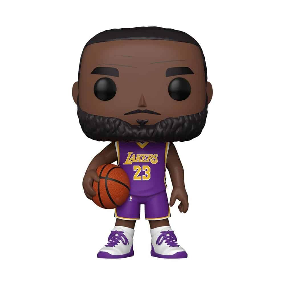 Funko Pop! Basketball NBA Lakers LeBron James (Purple Jersey) 10-Inch Funko Pop! Vinyl Figure