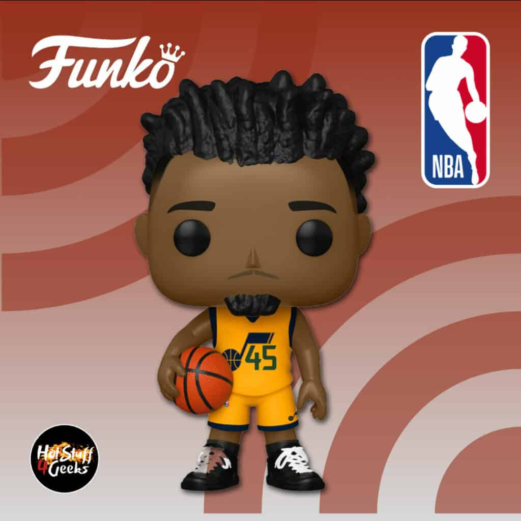 Funko Pop! Basketball NBA Utah Jazz Donovan Mitchell (Alternate) Funko Pop! Vinyl Figure