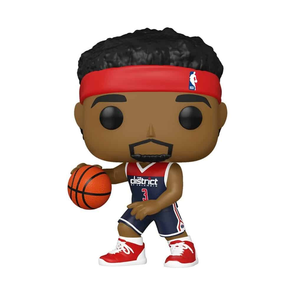 Funko Pop! Basketball  NBA Washington Wizards Bradley Beal (Alternate) Funko Pop! Vinyl Figure