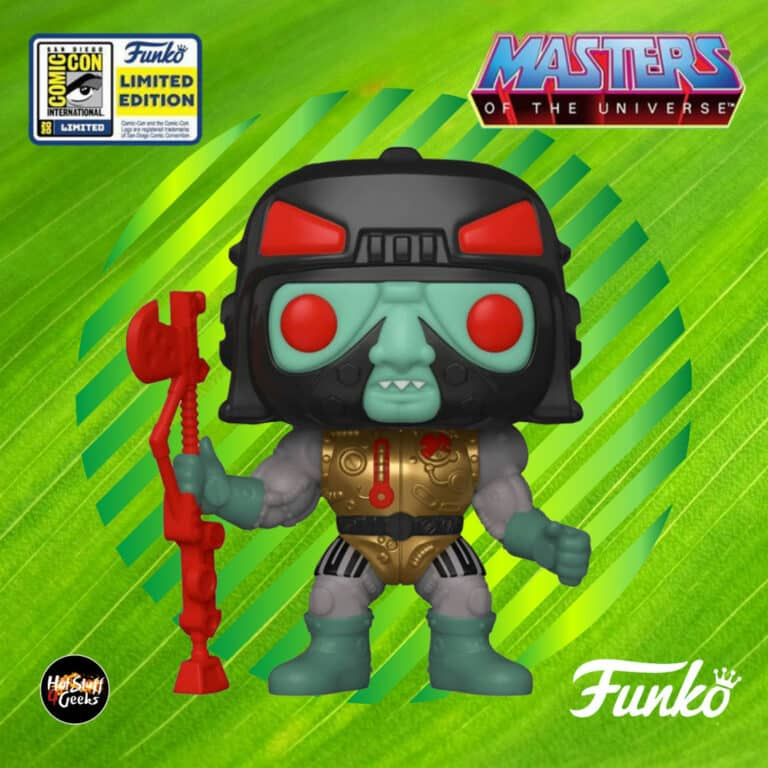 Funko Pop! Television – Masters of the Universe Blast-Attak Funko Pop! Funko Vinyl Figure  - SDCC 2020 and Toy Tokyo Shared Exclusive
