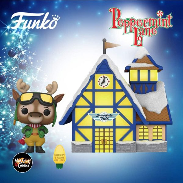 Funko Pop! Town Christmas: Peppermint Lane – Harriet Camber & Snowflake Field Funko Pop! Vinyl Figure – Christmas Holiday 2020