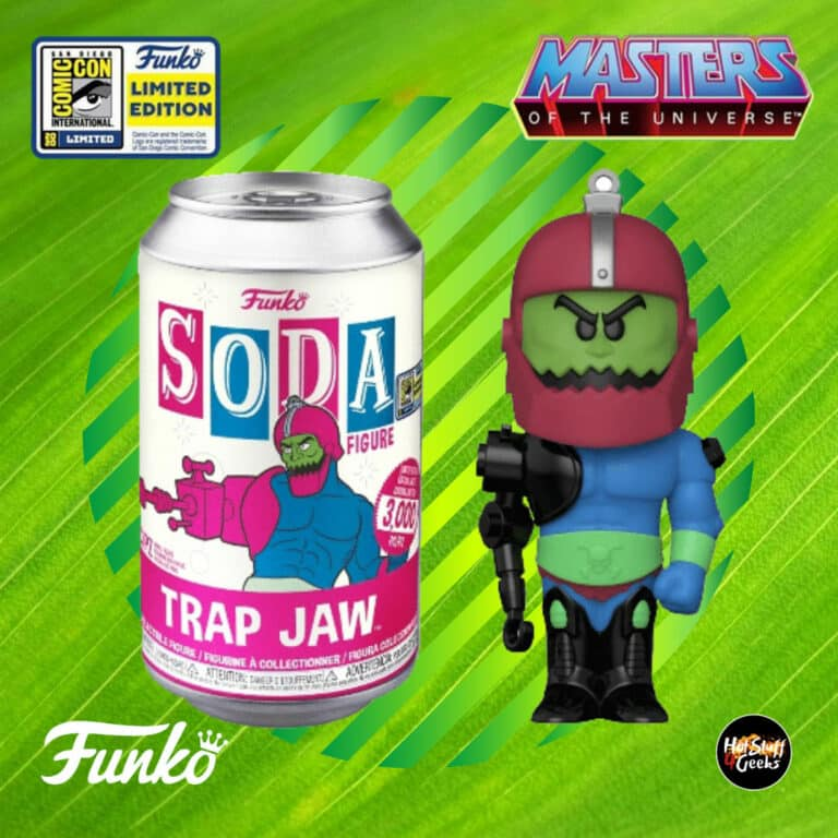 Funko Vinyl Soda Masters Of The Universe Trap Jaw Funko Soda Vinyl Figure - SDCC 2020 and Funko Shop Shared Exclusive
